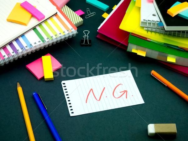 Mesaj çalışma büro okul toplantı yardım Stok fotoğraf © user_9323633