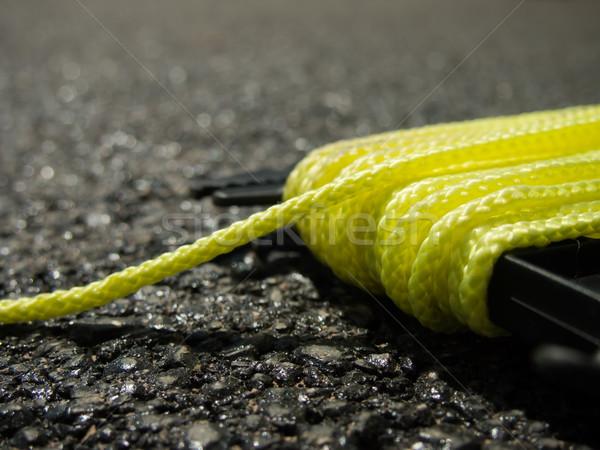 желтый строку землю работу работу конкретные Сток-фото © user_9323633