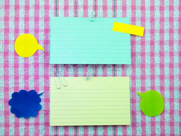 Kleurrijk ballonnen merkt roze weefsel bubbels Stockfoto © user_9323633