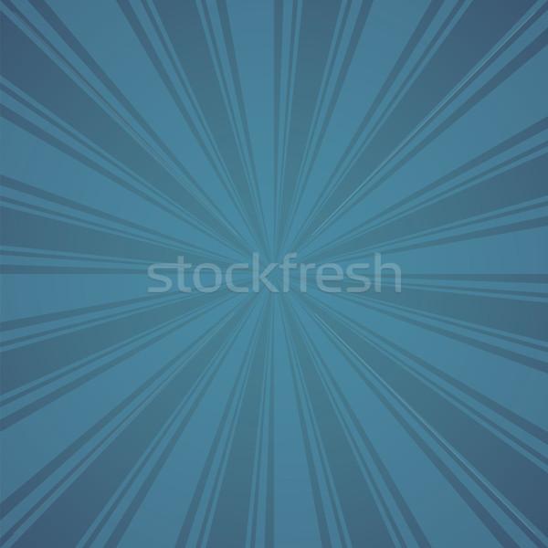 青 色 バースト 自然 背景 日の出 ストックフォト © user_9385040