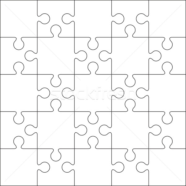 jigsaw puzzle background. Stock photo © user_9385040