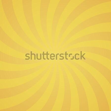 orange color swirl burst background. Stock photo © user_9385040