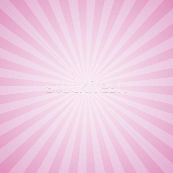 pink color burst background. Stock photo © user_9385040