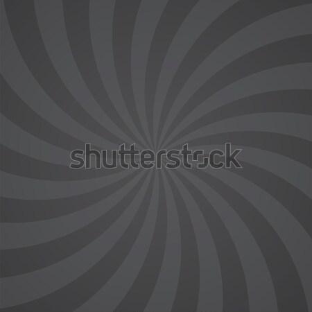 Schwarz Farbe swirl Burst Sonne abstrakten Stock foto © user_9385040