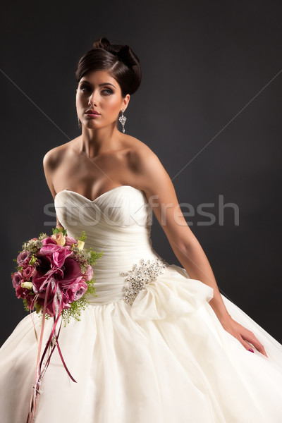Young Beautiful Bride Stock photo © user_9834712