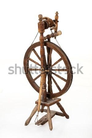 Történelmi ágyú izolált történelmi fegyver háború Stock fotó © user_9834712