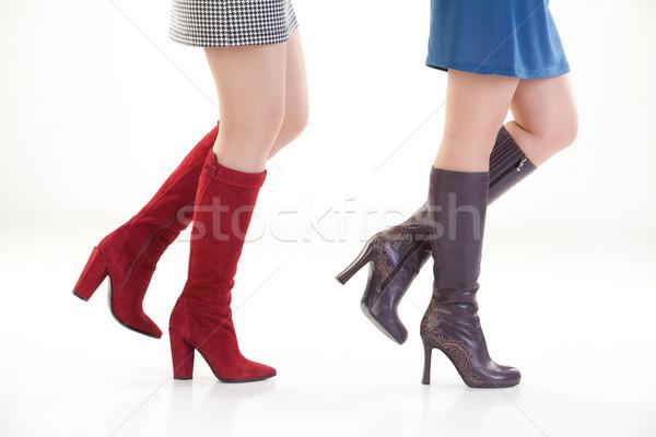 脚 靴 孤立した 女性 女性 ボディ ストックフォト © user_9834712
