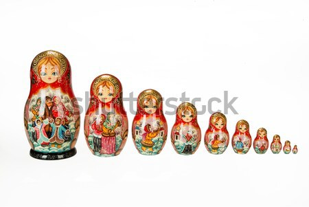 Traditional Russian Dolls Stock photo © user_9834712