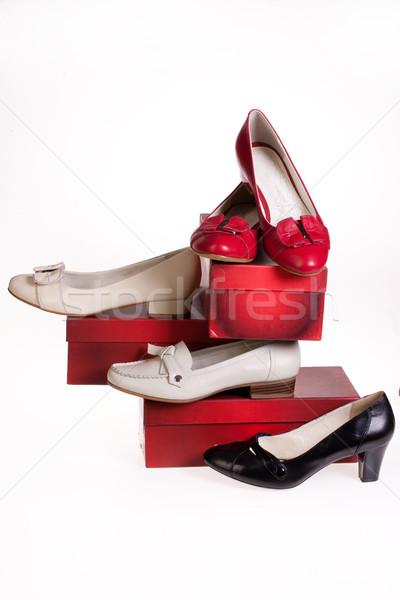 Photo stock: Chaussures · différent · santé · fond · sport · danse