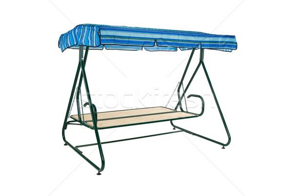 Camping mobiliário isolado estúdio praia Foto stock © user_9834712