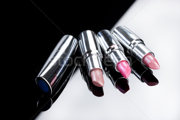 Metal Tubes With Lipstick Stock photo © user_9834712