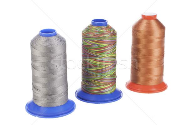 Bobbin With Silk Thread Stock photo © user_9834712