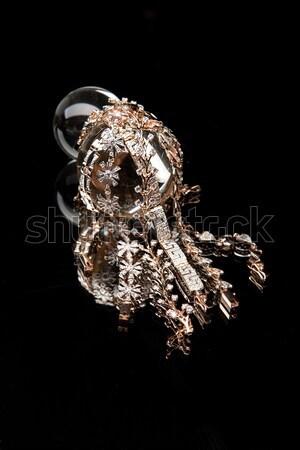 Metal frumuseţe inel colier Imagine de stoc © user_9834712