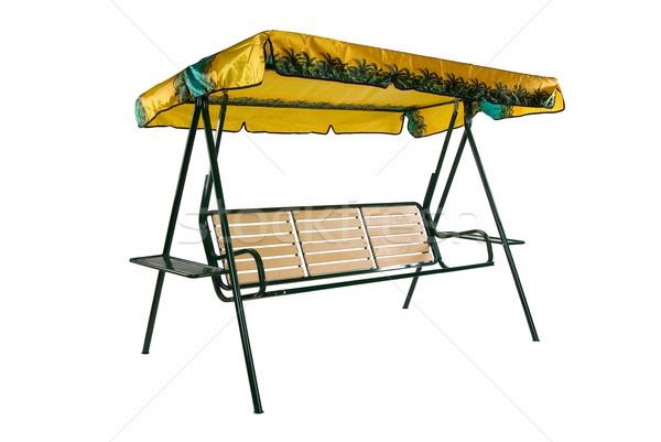 Kempingezés bútor kerti bútor izolált stúdió tengerpart Stock fotó © user_9834712