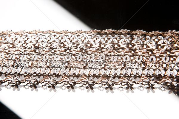 металл красоту кольца ожерелье Сток-фото © user_9834712
