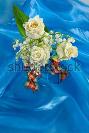 Machinegun And Flowers Stock photo © user_9834712