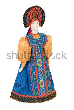 Old Russian Traditional Folk Doll Stock photo © user_9834712