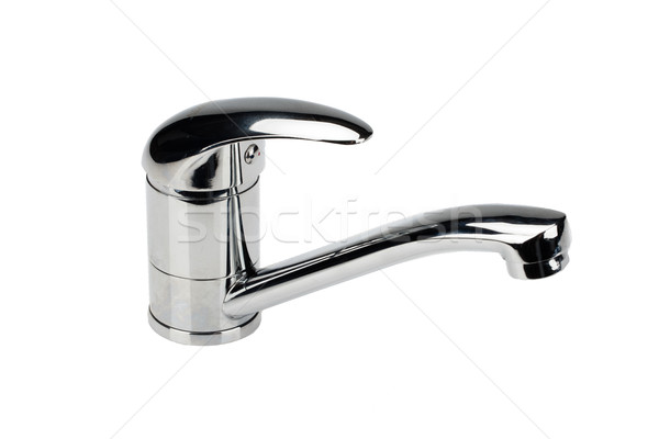 Metal Chromium- Plated Water Mixer Stock photo © user_9834712