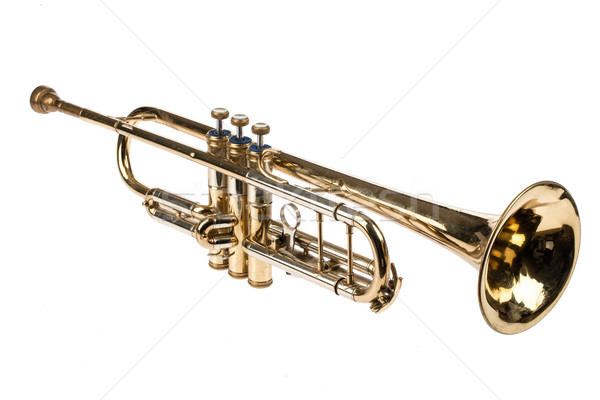 Old Trumpet Stock photo © user_9834712