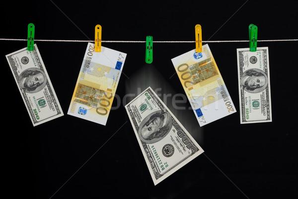 Laundered Money Stock photo © user_9834712
