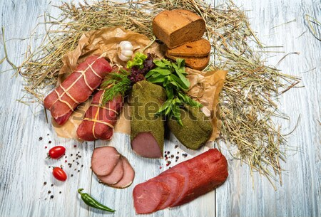 Meat And Vegetables Stock photo © user_9834712
