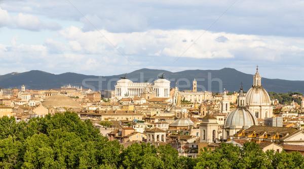 Рим день лет город архитектура Blue Sky Сток-фото © user_9870494