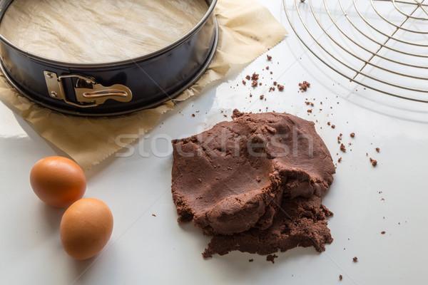 Rosyjski ciasto przygotowany naczyń Zdjęcia stock © user_9870494