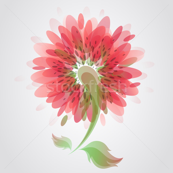 Flower. Colorful vector illustration. Stock photo © ussr