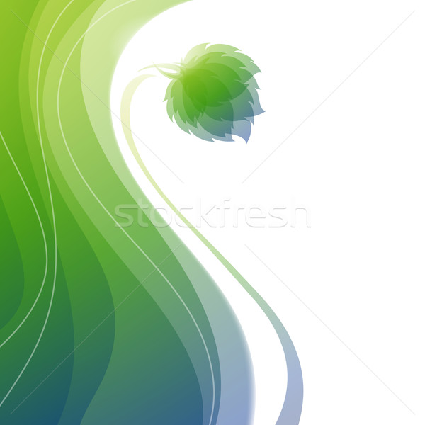 Nature. Abstract background. Vector illustration. Stock photo © ussr