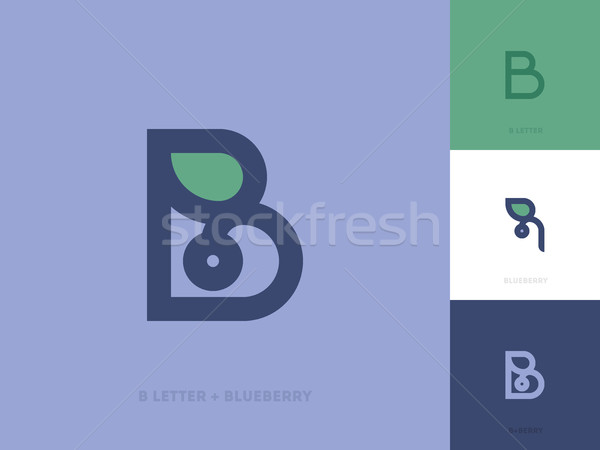 Stockfoto: Lijn · stijl · logo · sjabloon · brief