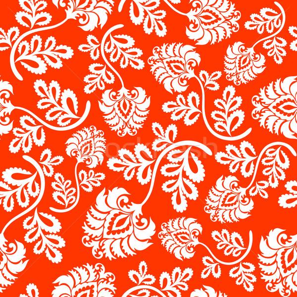 Naadloos bloem textuur abstract ontwerp Stockfoto © ussr