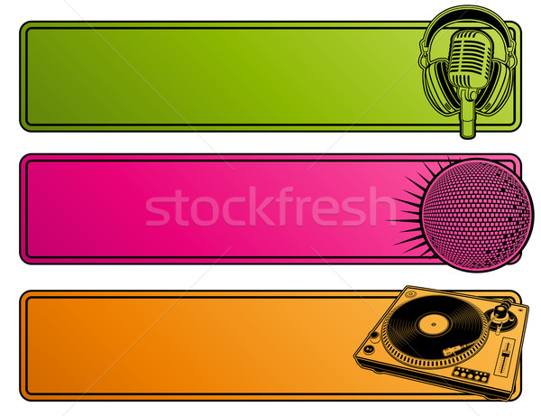 Abstract party design. Banners.  Stock photo © ussr