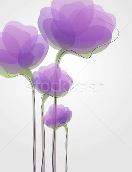 Flowers. Colorful backgrounds. Vector illustration. Stock photo © ussr