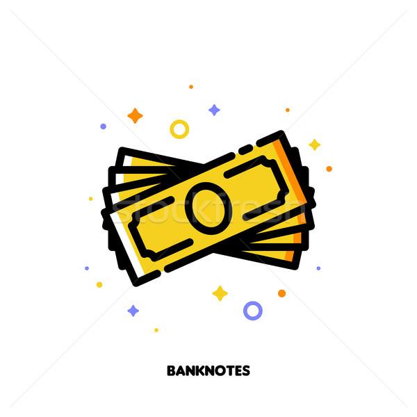 アイコン スタック お金 スタイル ストックフォト © ussr