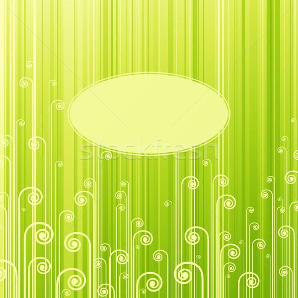 аннотация зеленый весны дизайна лист Сток-фото © ussr