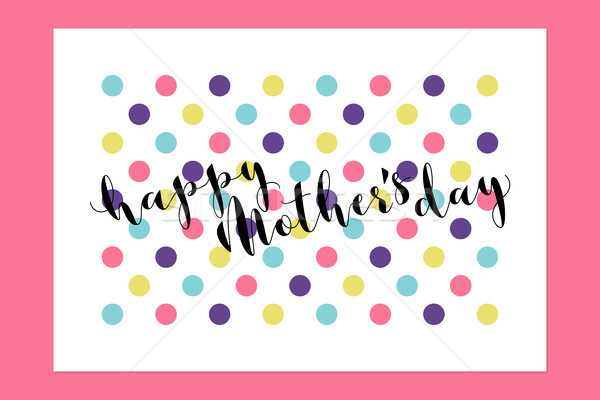 幸せな母の日 背景 手紙 ストックフォト © ussr