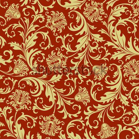 Seamless floral background. Vector illustration. Stock photo © ussr
