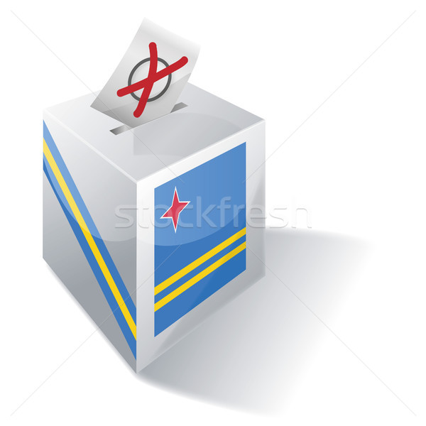 Ballot box Aruba Stock photo © Ustofre9