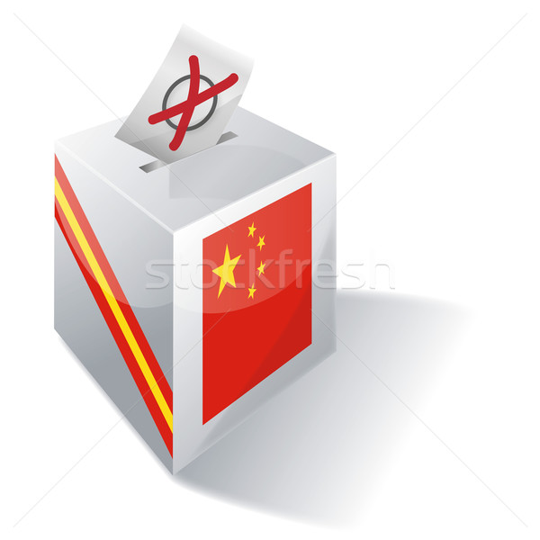 Ballot box China Stock photo © Ustofre9