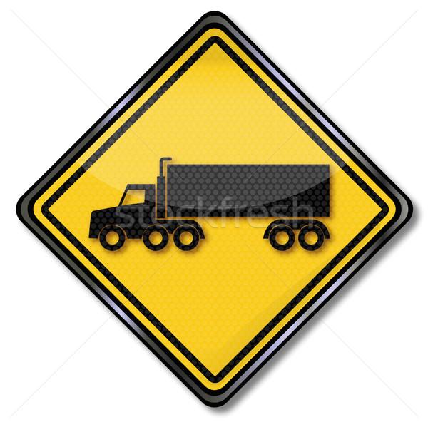 交通標識 トラック にログイン 法 トラフィック ストックフォト © Ustofre9