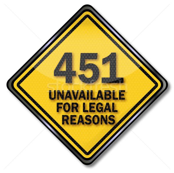 Computer plaat juridische server veiligheid teken Stockfoto © Ustofre9