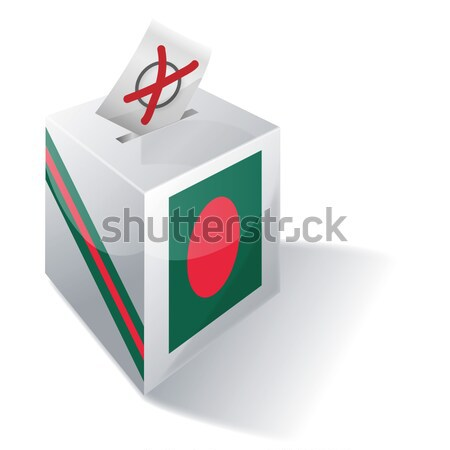 Ballot box Laos Stock photo © Ustofre9