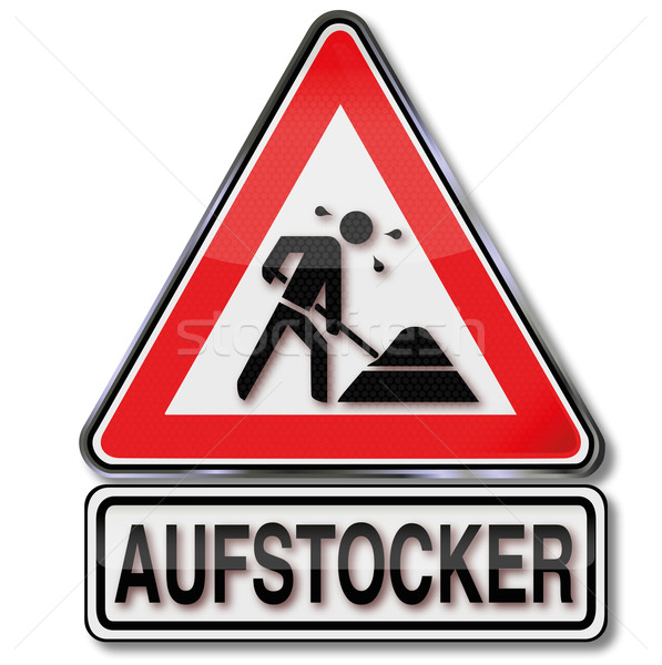 Sign spiking, existence, and subsistence Stock photo © Ustofre9