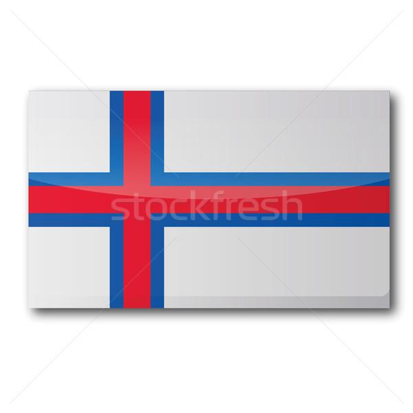 Flag Faroe Islands Stock photo © Ustofre9