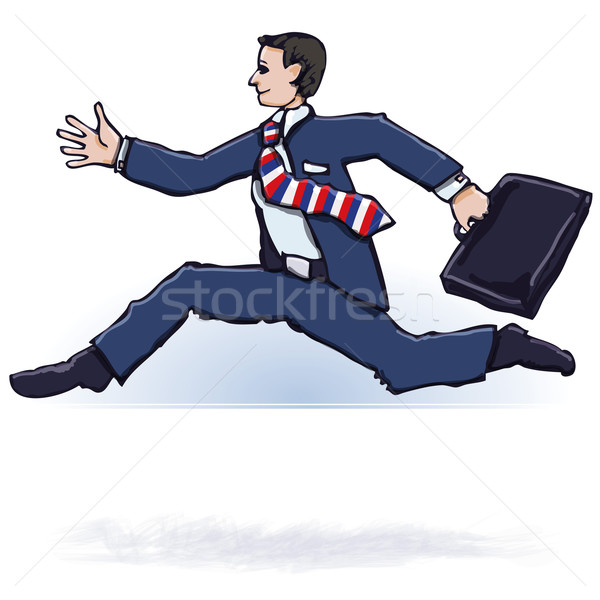 Businessman and lead  Stock photo © Ustofre9