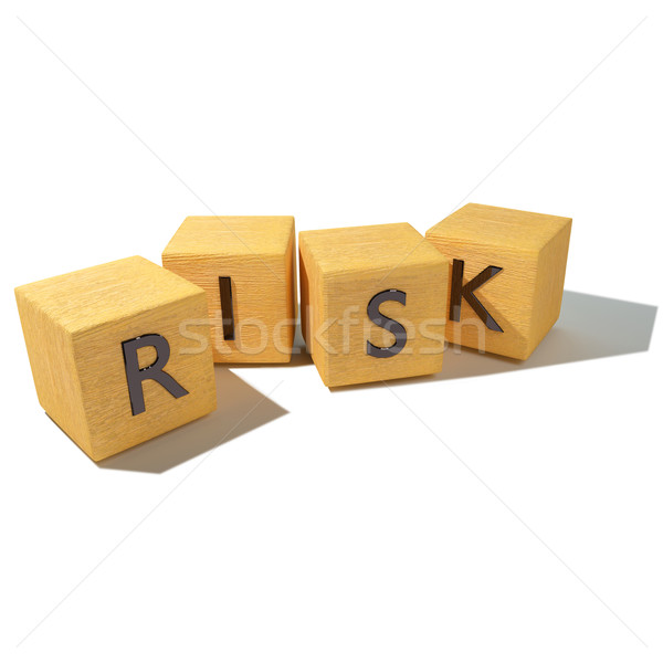 Dice and risk  Stock photo © Ustofre9