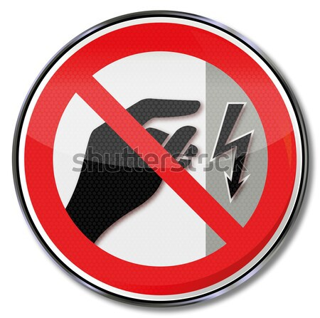 Prohibition sign for spam mails Stock photo © Ustofre9
