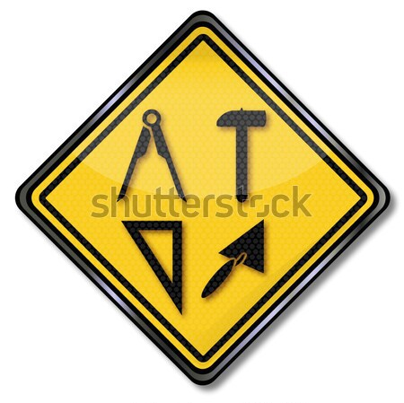 Sign depression and bad Weather Stock photo © Ustofre9