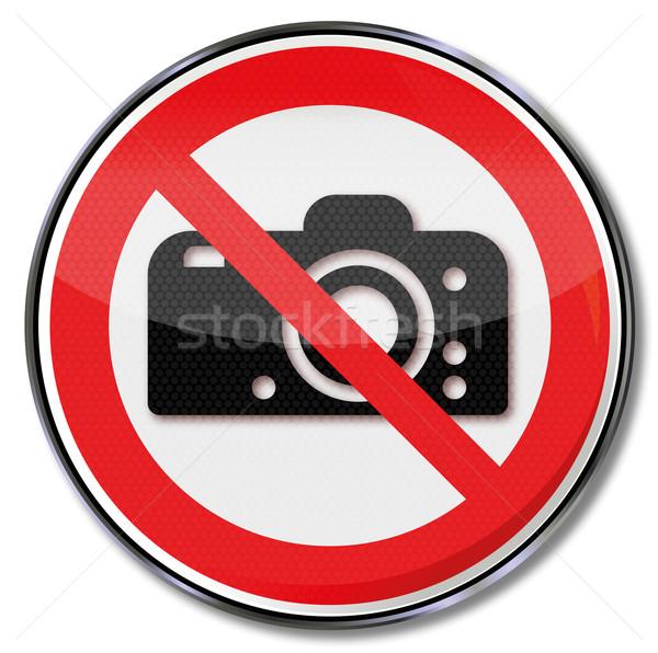 禁止 にログイン 写真 業界 赤 ストックフォト © Ustofre9