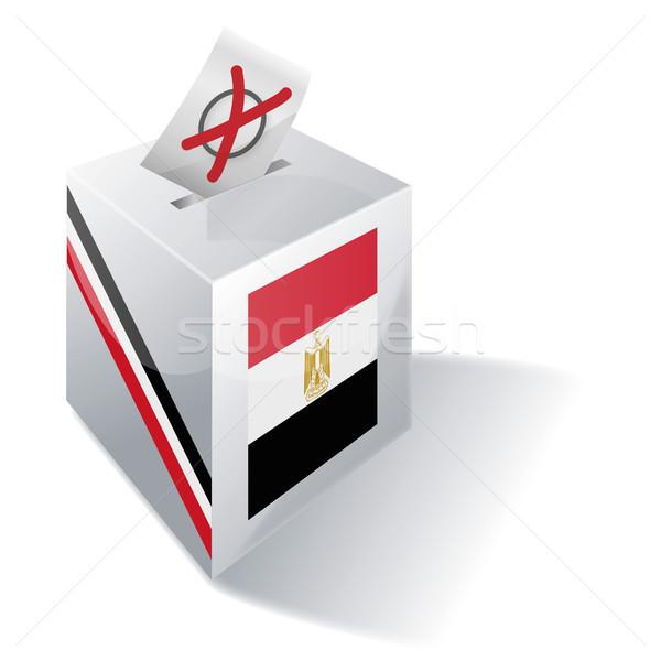 Ballot box Egypt Stock photo © Ustofre9